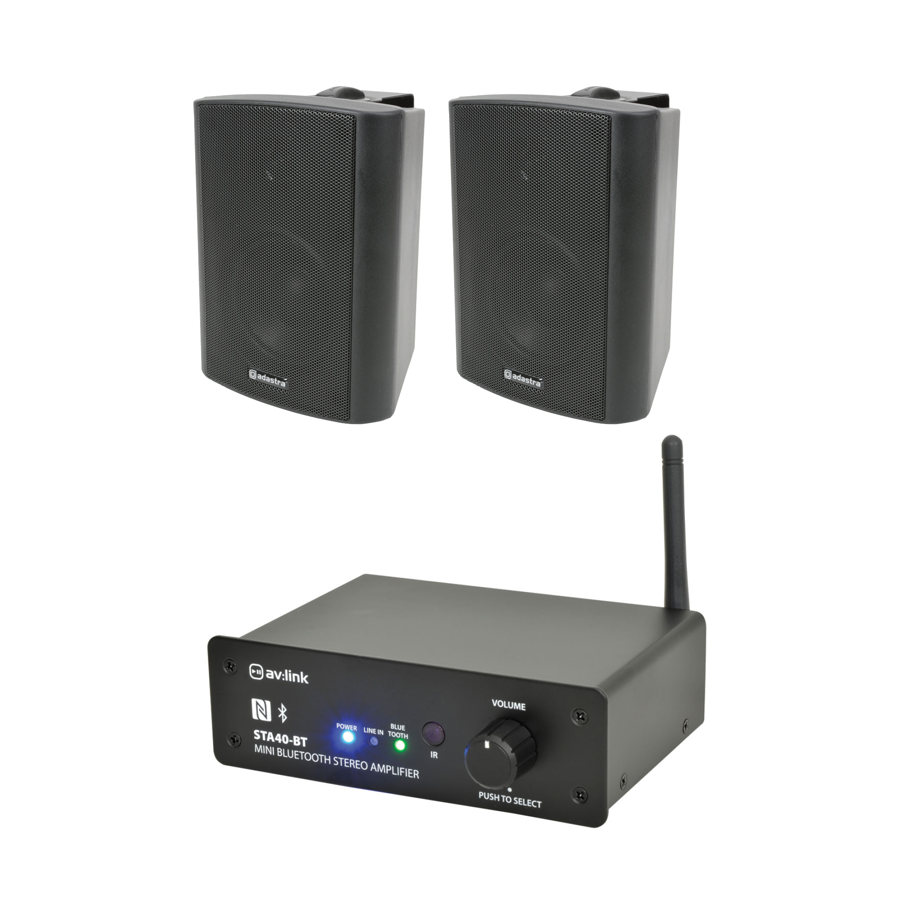Bluetooth zesilovač se 2 reproduktory BK