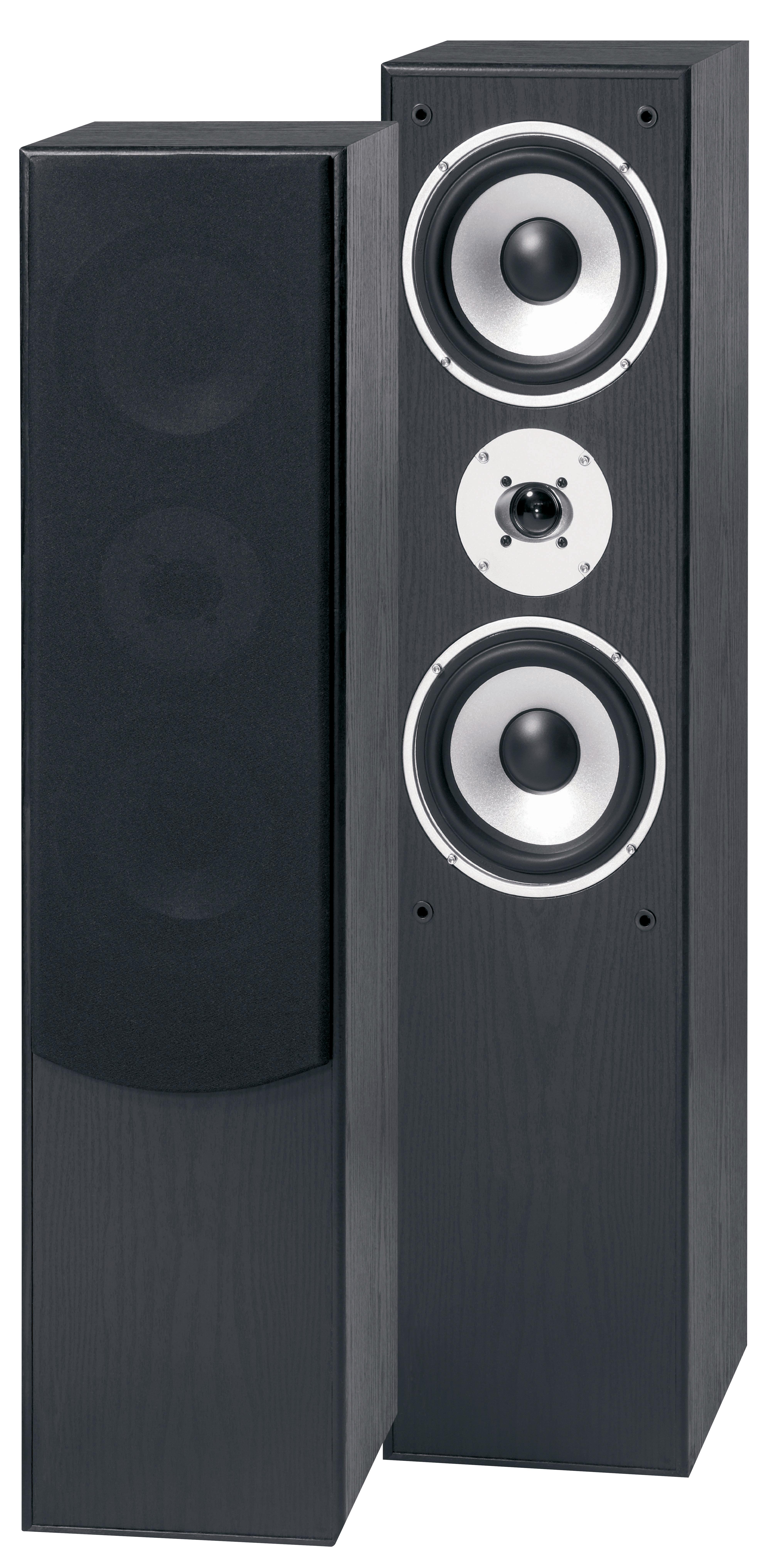 """Fenton Hi-Fi Tower 60B SET, 2x 6.5"""" repro sloupové, černé"""
