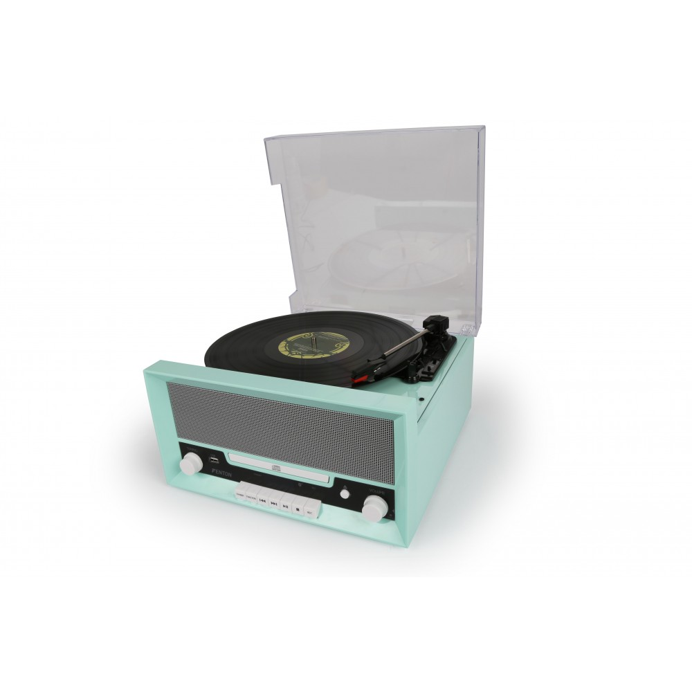 Fenton RP135 aktivní retro Combo, gramofon, BT, USB, CD, FM