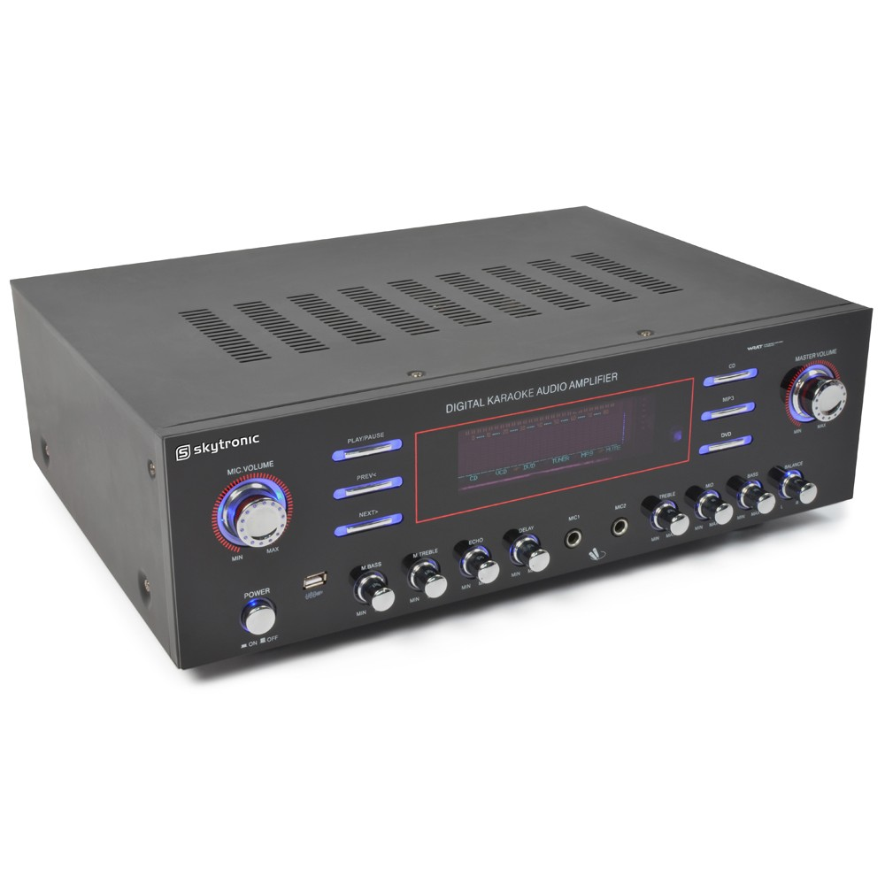 Skytronic AV-340, 5 kanálový HQ Surround zesilovač s MP3