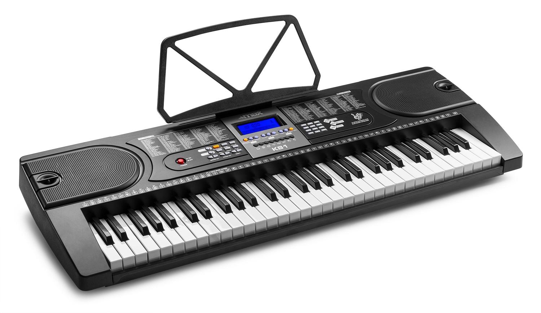 Max KB1 elektronické klávesy, 61 kláves