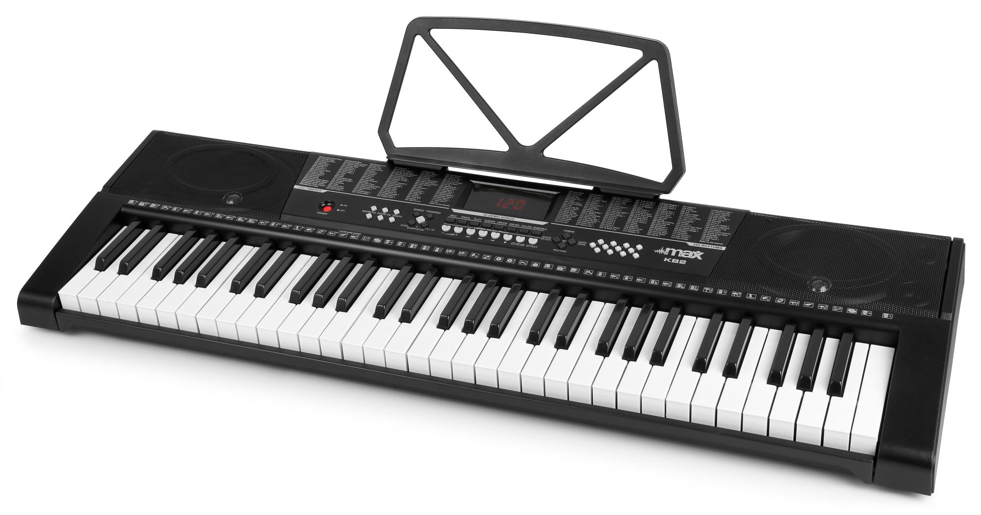 Max KB2 elektronické klávesy, 61 kláves