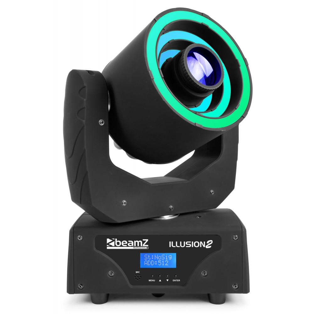 BeamZ Illusion Spot 30W, DMX