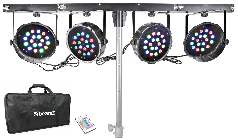 BeamZ LED PAR Bar Kit, 18x 1W RGB LED