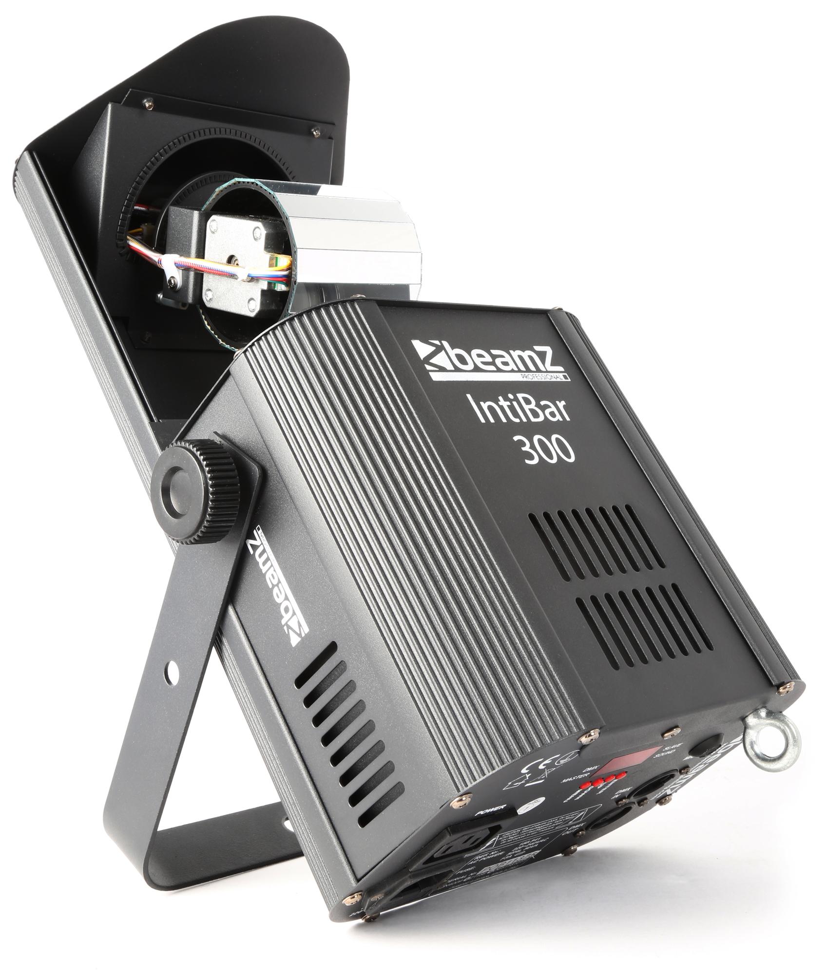 BeamZ LED Scan, 1x30W RGB DMX rotační válec, světelný efekt
