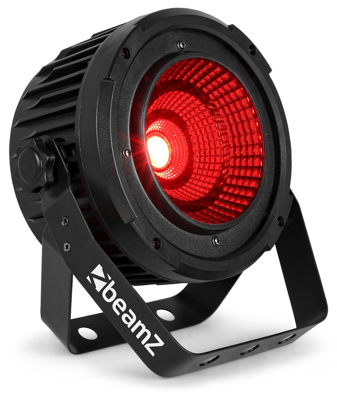 BeamZ COB50 LED PAR reflektor, 1x 50W COB, DMX