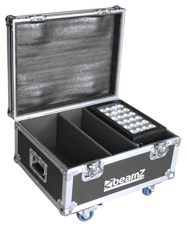 BeamZ Professional Flightcase FL2 pro 2ks Star-Color 240/360 Wash