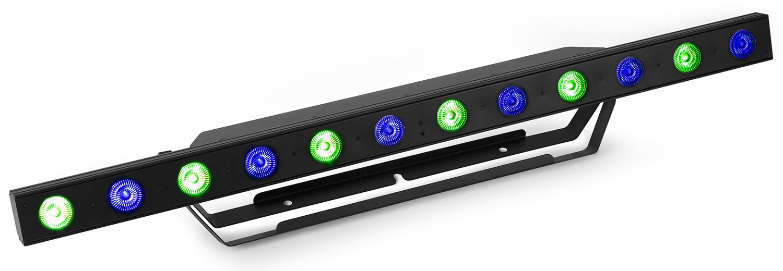 BeamZ Professional LCB155 LED Bar 12x 12W HCL RGBAW-UV LED, DMX