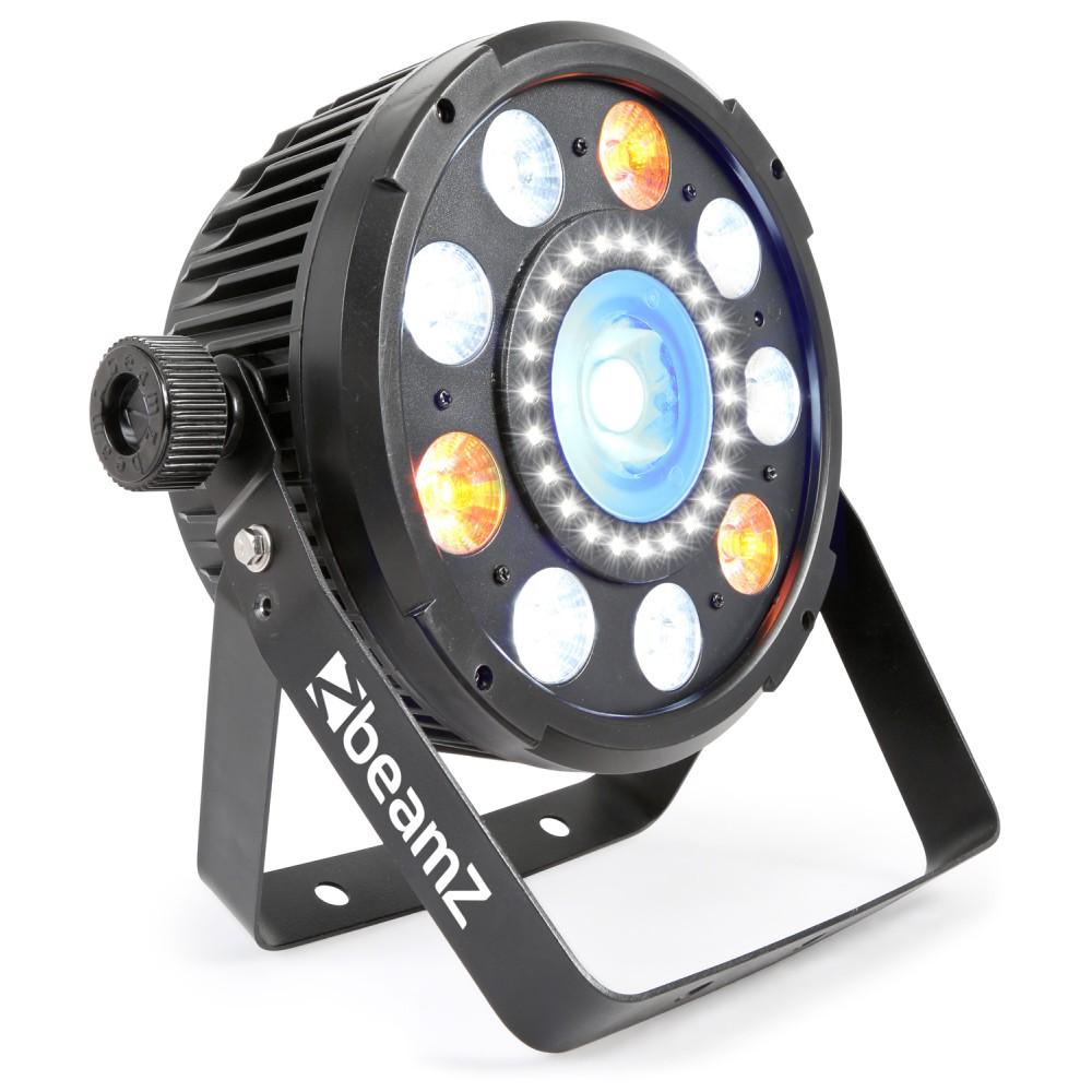 BeamZ BX94 PAR COB a QCL LED, Strobo, IR, DMX