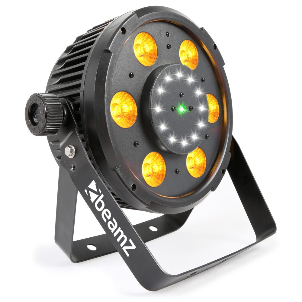 BeamZ BX100 PAR QCL LED, Strobo, Laser RG, IR, DMX