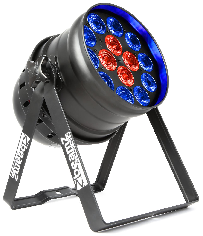 BeamZ LED PAR 64 reflektor 14x18W RGBAW-UV, DMX