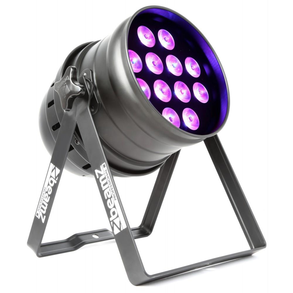 BeamZ LED PAR-64 reflektor 12x 18W RGBAW-UV, IR, DMX