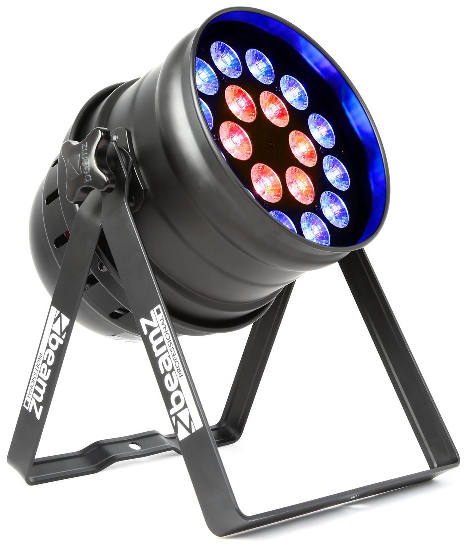 BeamZ LED PAR-64 reflektor 18x 12W RGBW, IR, DMX