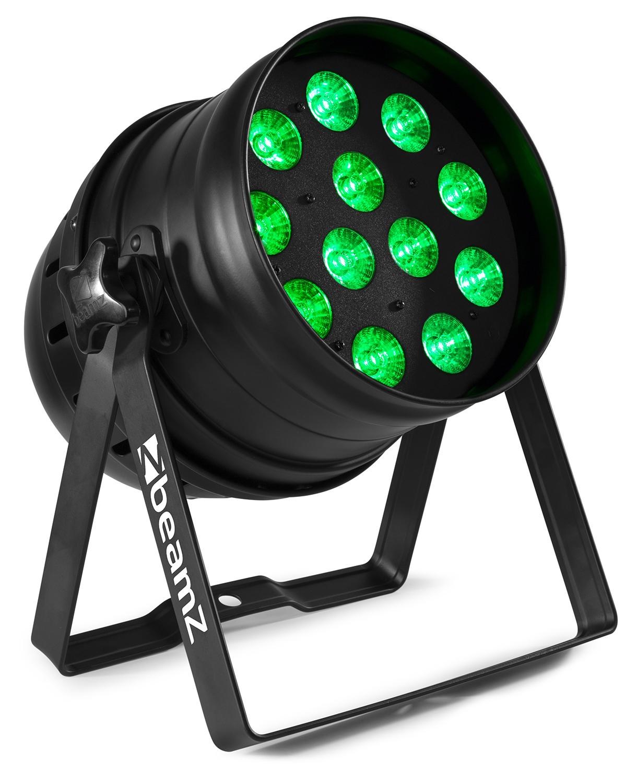 BeamZ BPP120 LED PAR 64 reflektor, 12x3W TCL RGB, DMX