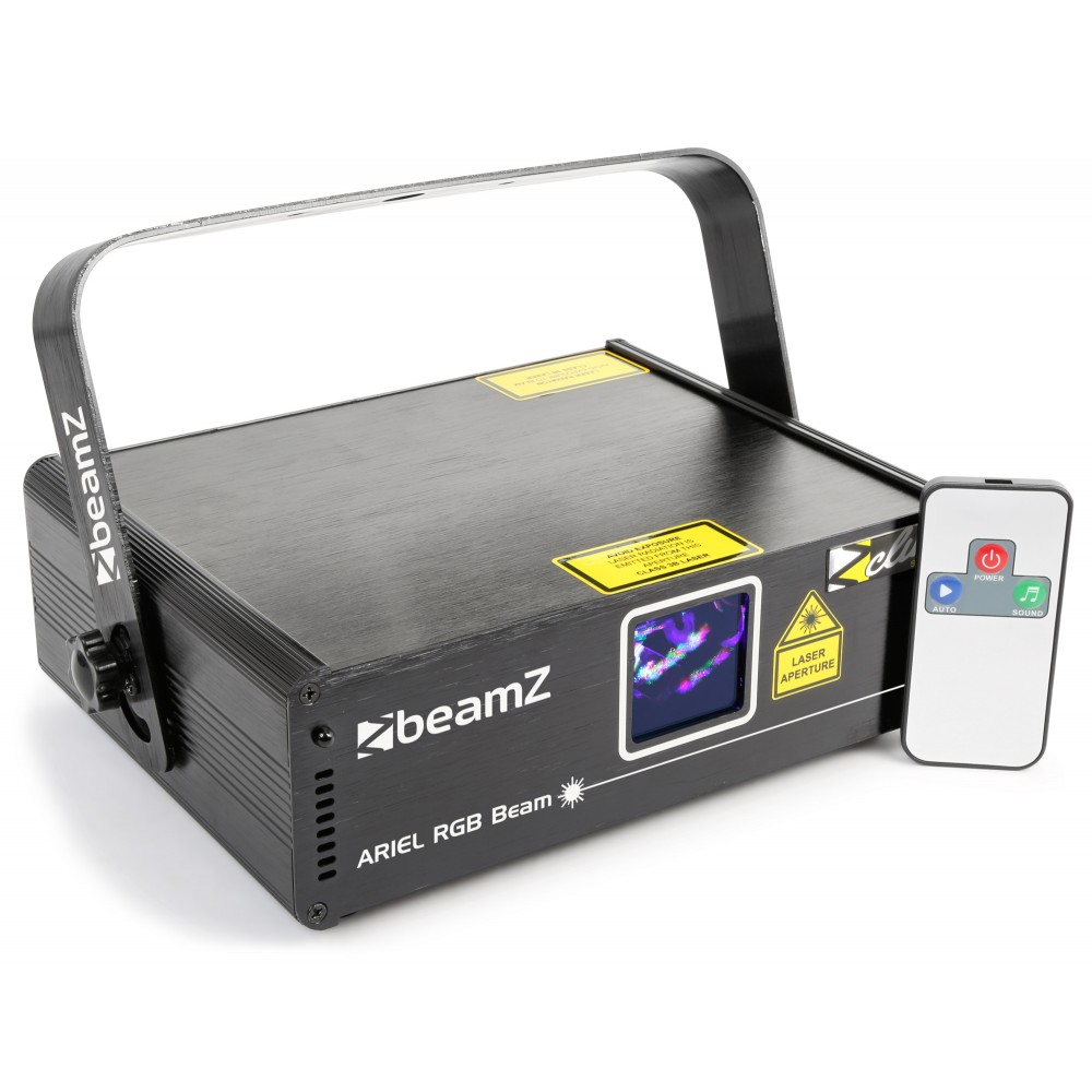 BeamZ Laser Ariel 350mW RGB, DMX, DO