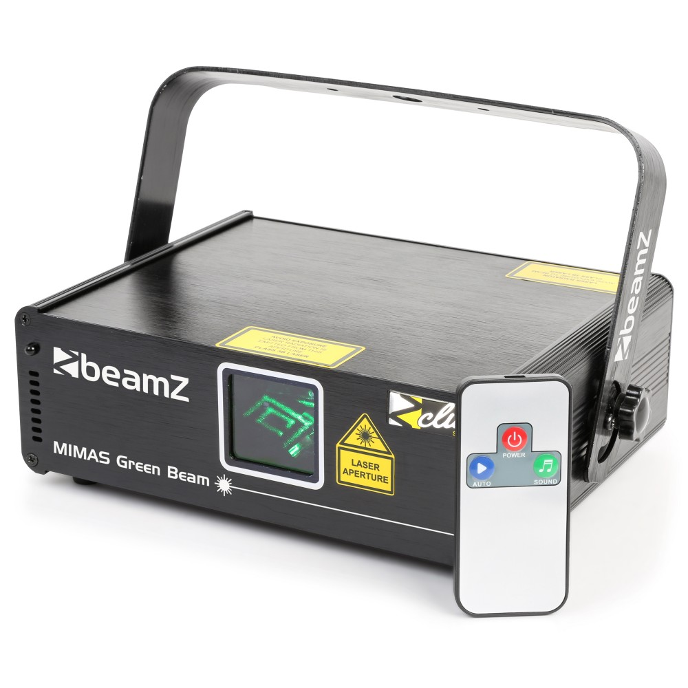 BeamZ Laser Mimas 50mW zelený, DMX, DO