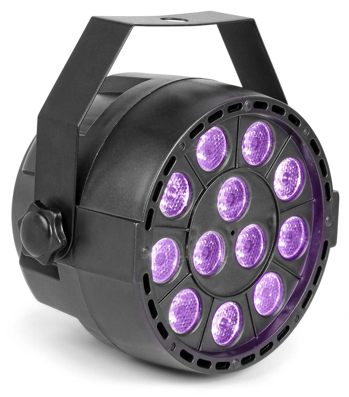 Max PartyPar UV reflektor, 12x1W UV LED, DMX