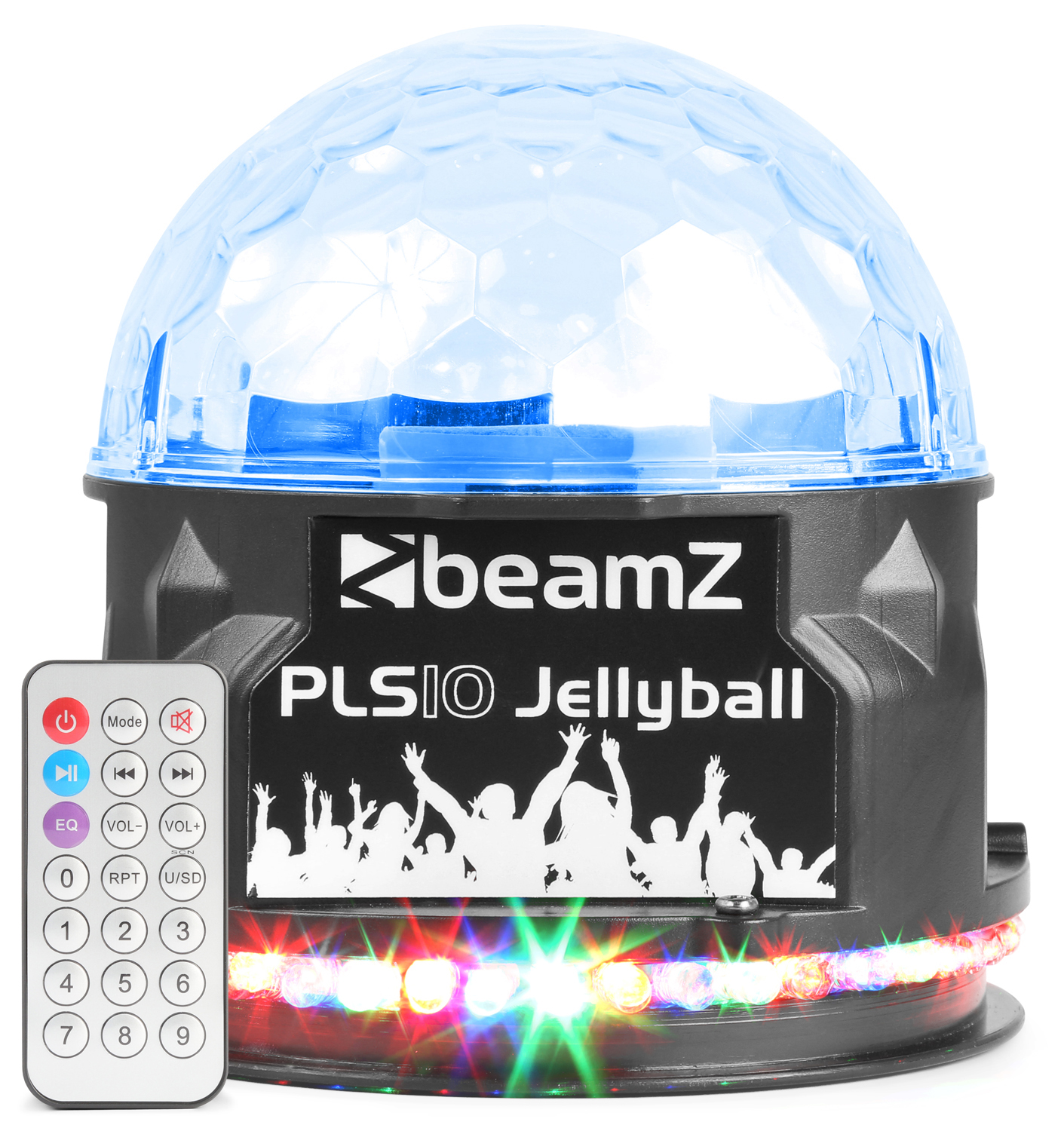 BeamZ PLS10 LED Jellyball s MP3/BT a reproduktorem