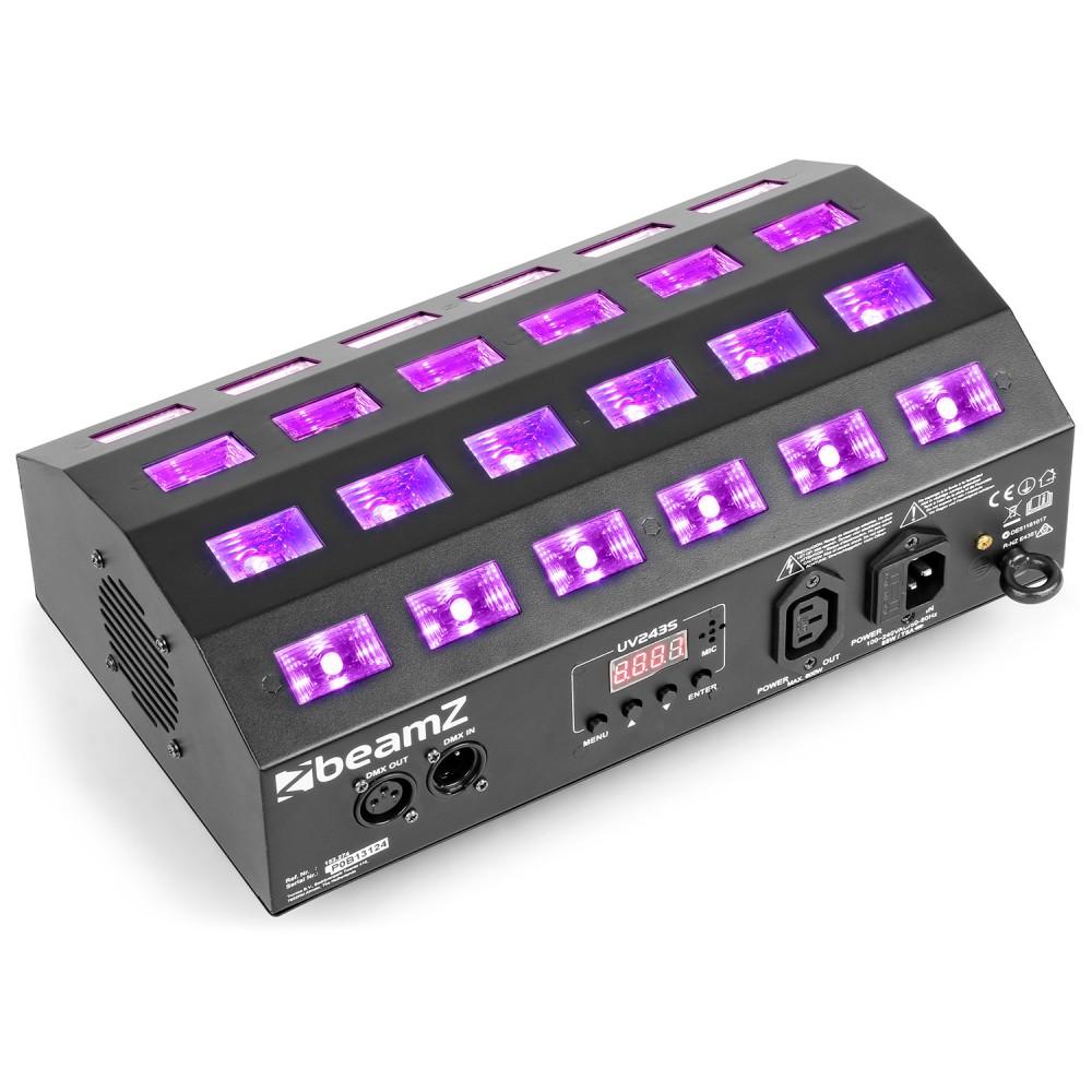 BeamZ UV stroboskop 24x 3W UV LED