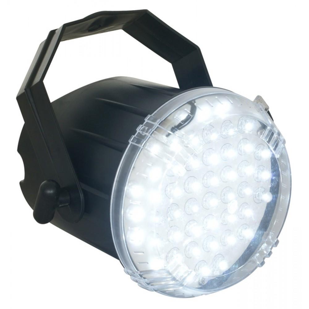 BeamZ LED Strobo 48 x 8mm LED Bílé
