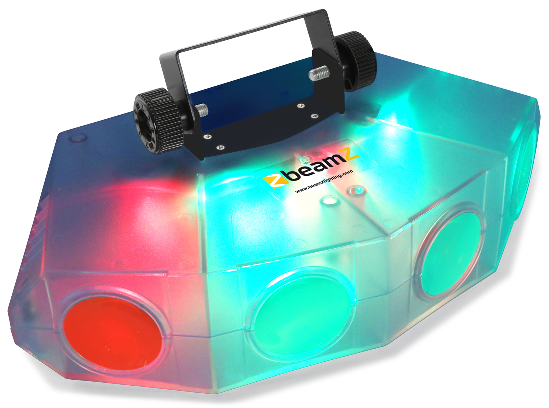 BeamZ Mini 4 Head Moon clear LED