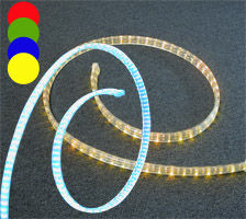LED světelný provaz, RGBY, cena / 1m
