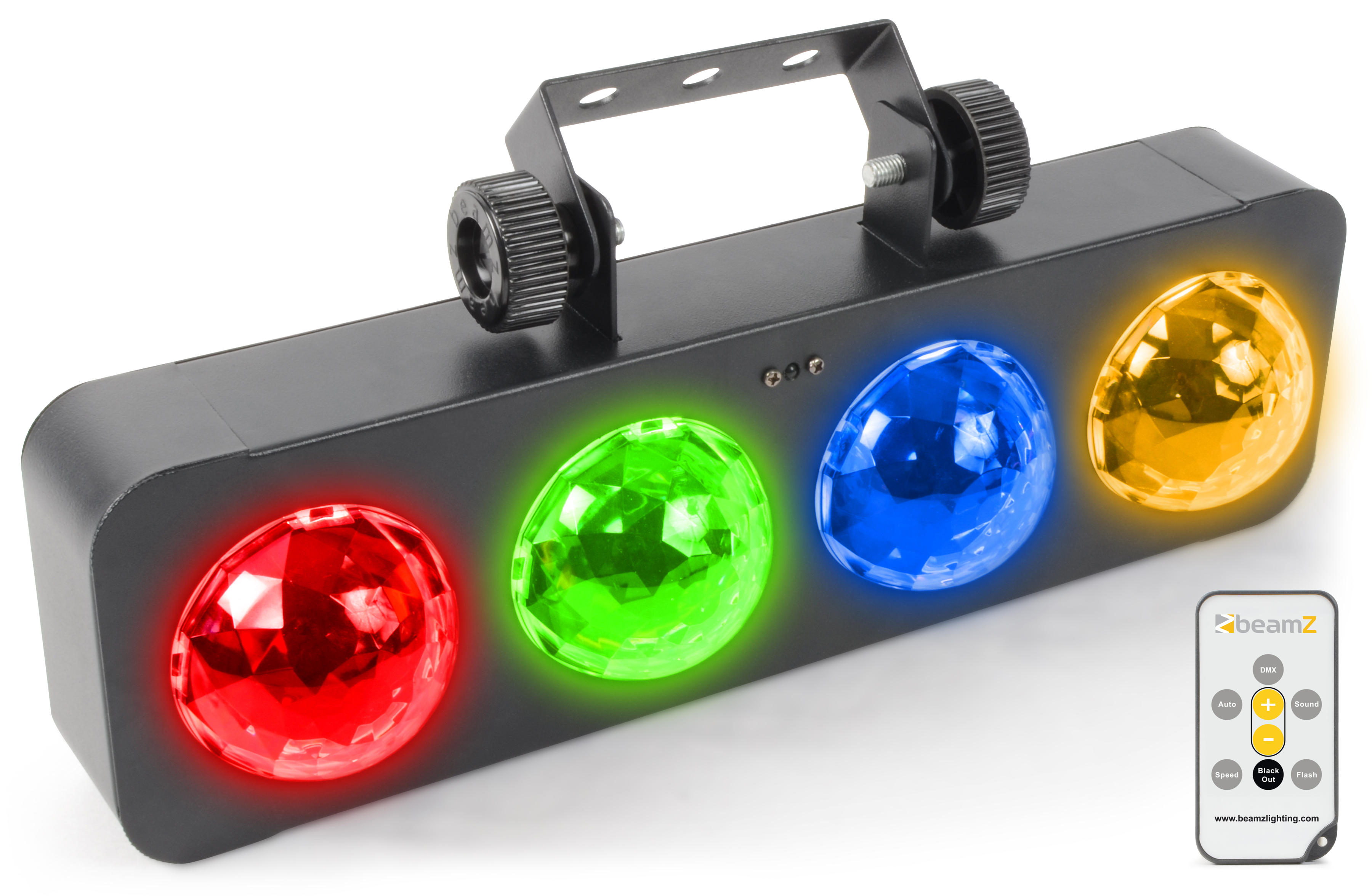 BeamZ DJ Bank BX 4x 3W RGBA LEDs