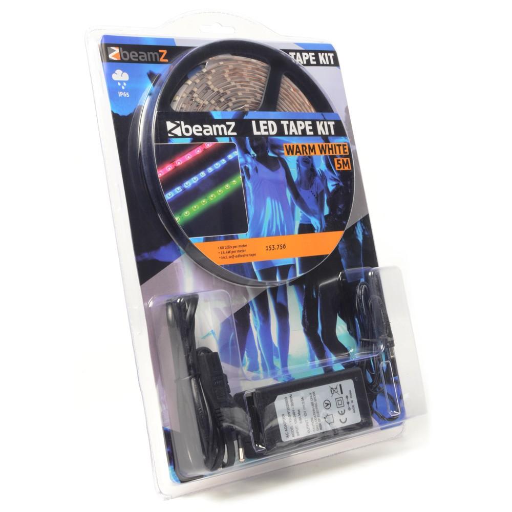 Sada LED páska 5m teplá bílá 60 LED / m IP65