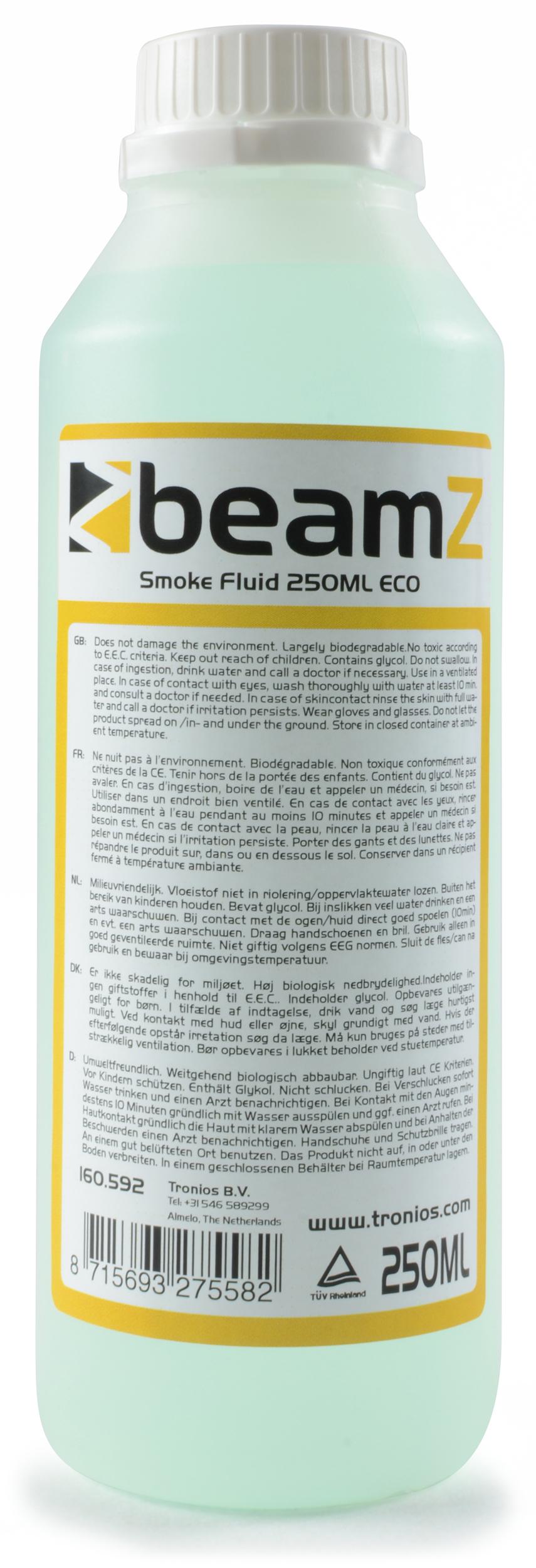 BeamZ náplň do výrobníku mlhy, ECO Green, 250ml