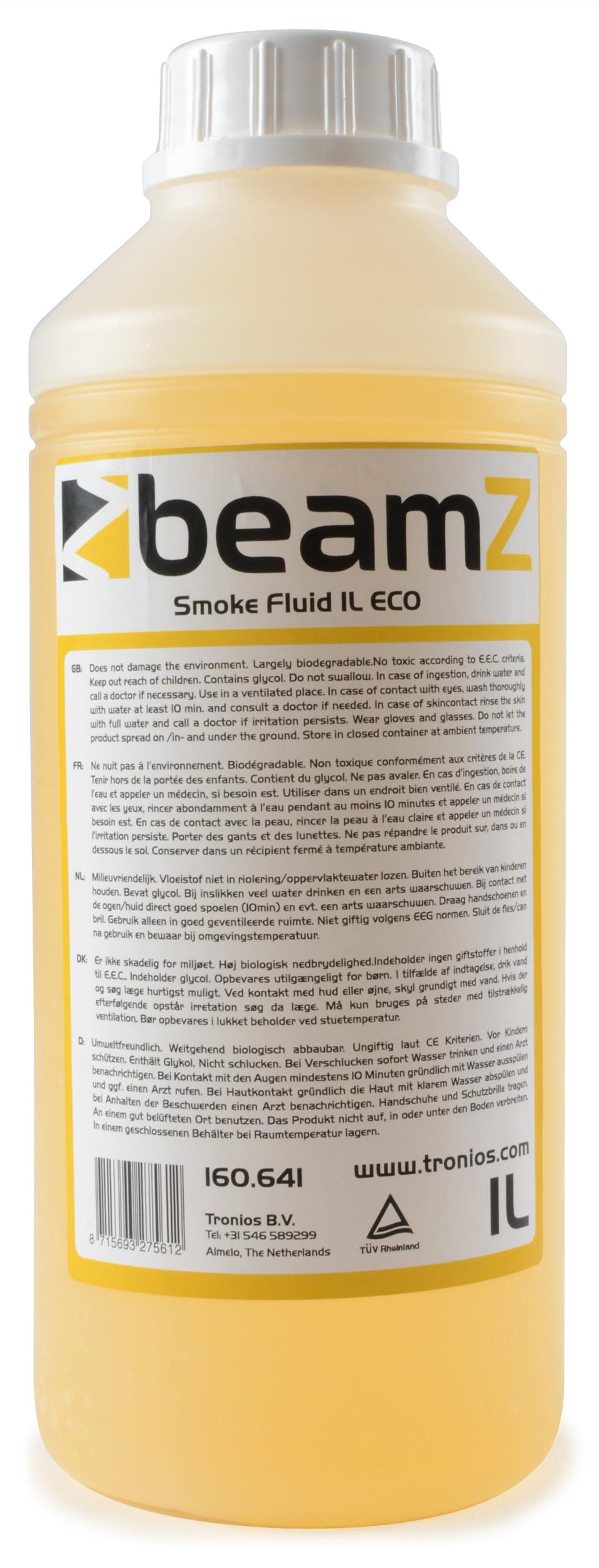 BeamZ náplň do výrobníku mlhy, ECO Orange, 1L