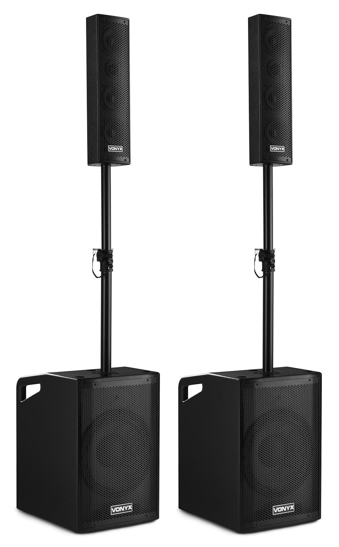 Vonyx VX1050BT aktivní zvuková sada 2.2