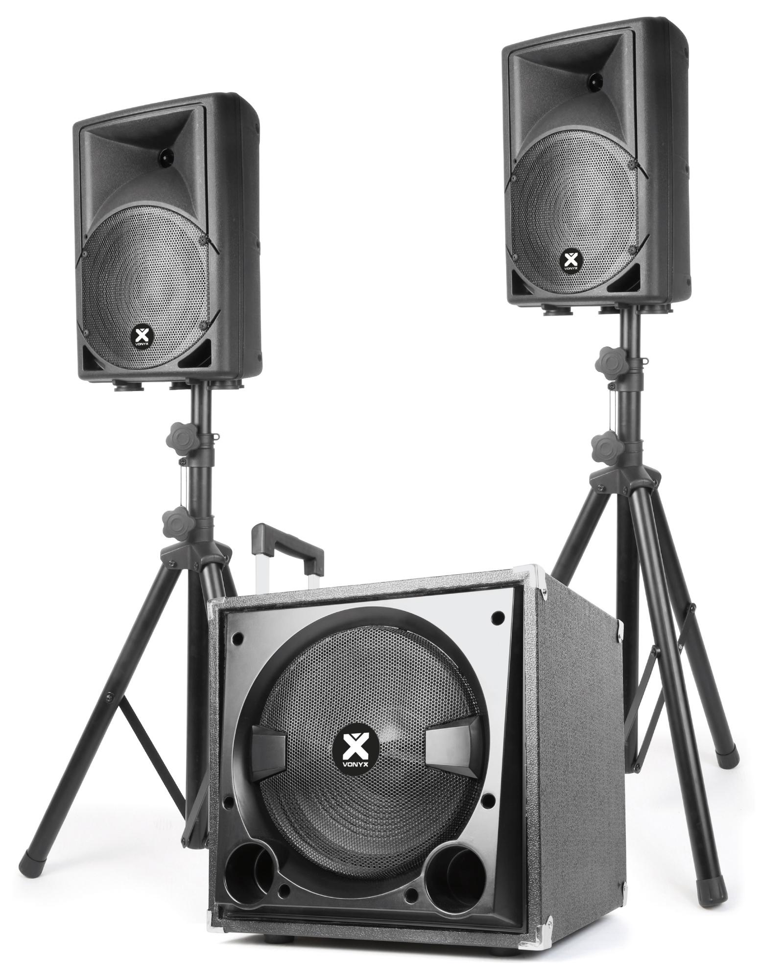 Vonyx Mini Beat Set 400W, MP3, Bluetooth