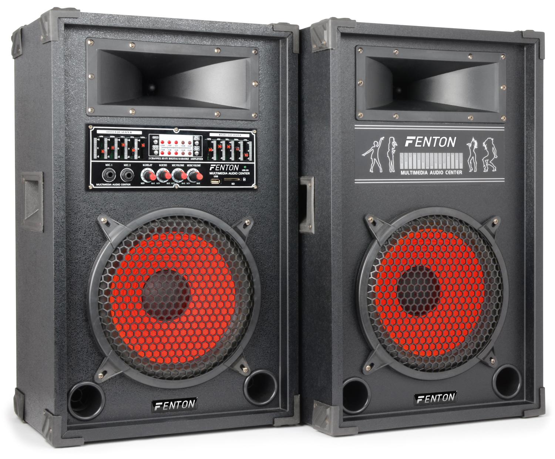 Fenton Karaoke Set, aktivní 2x 10