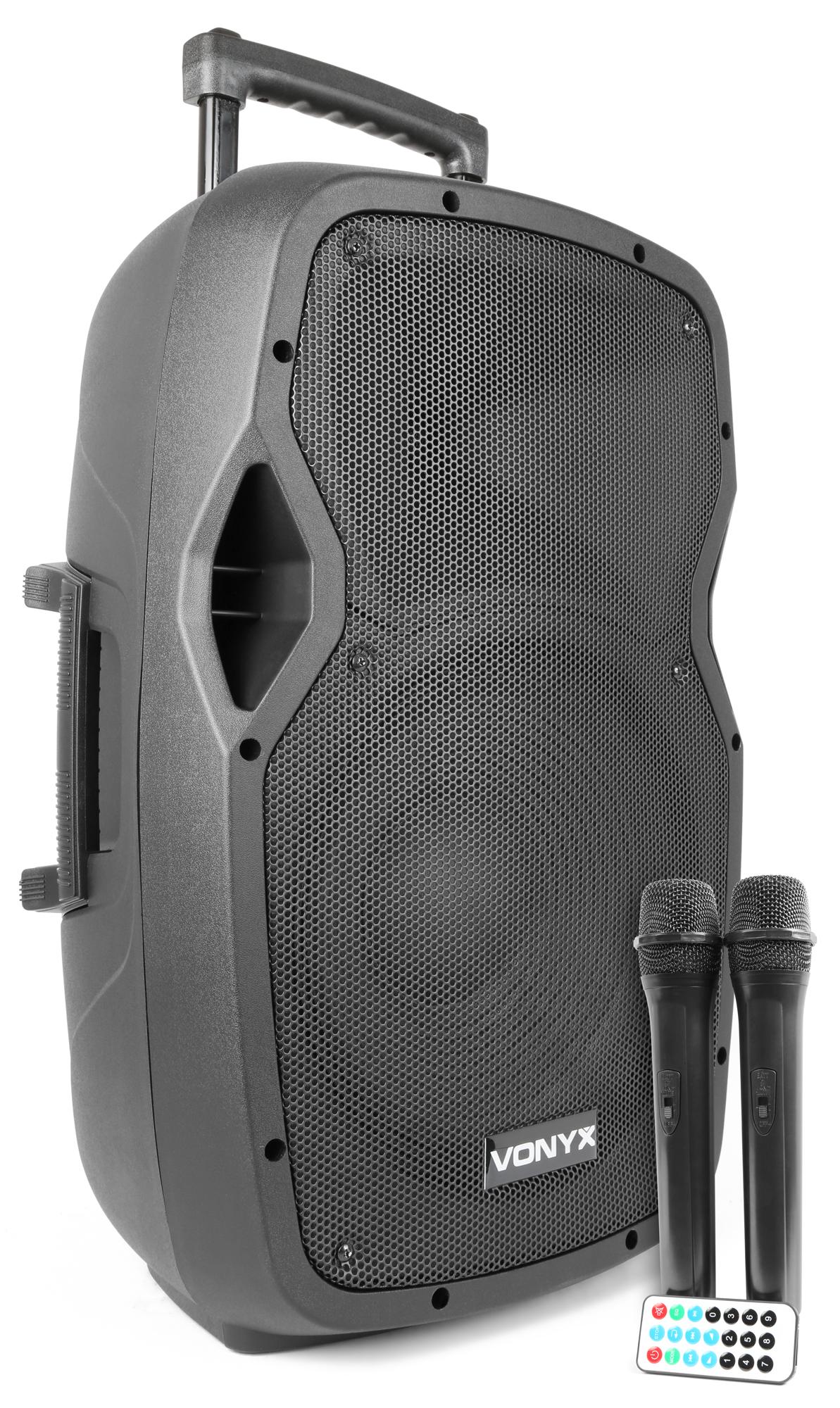 Vonyx AP1200PA Portable Speaker 12