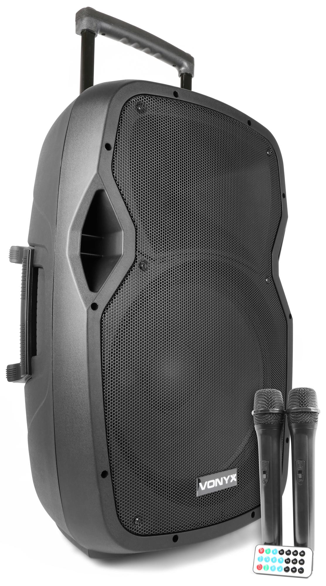 Vonyx AP1500PA Portable Speaker 15