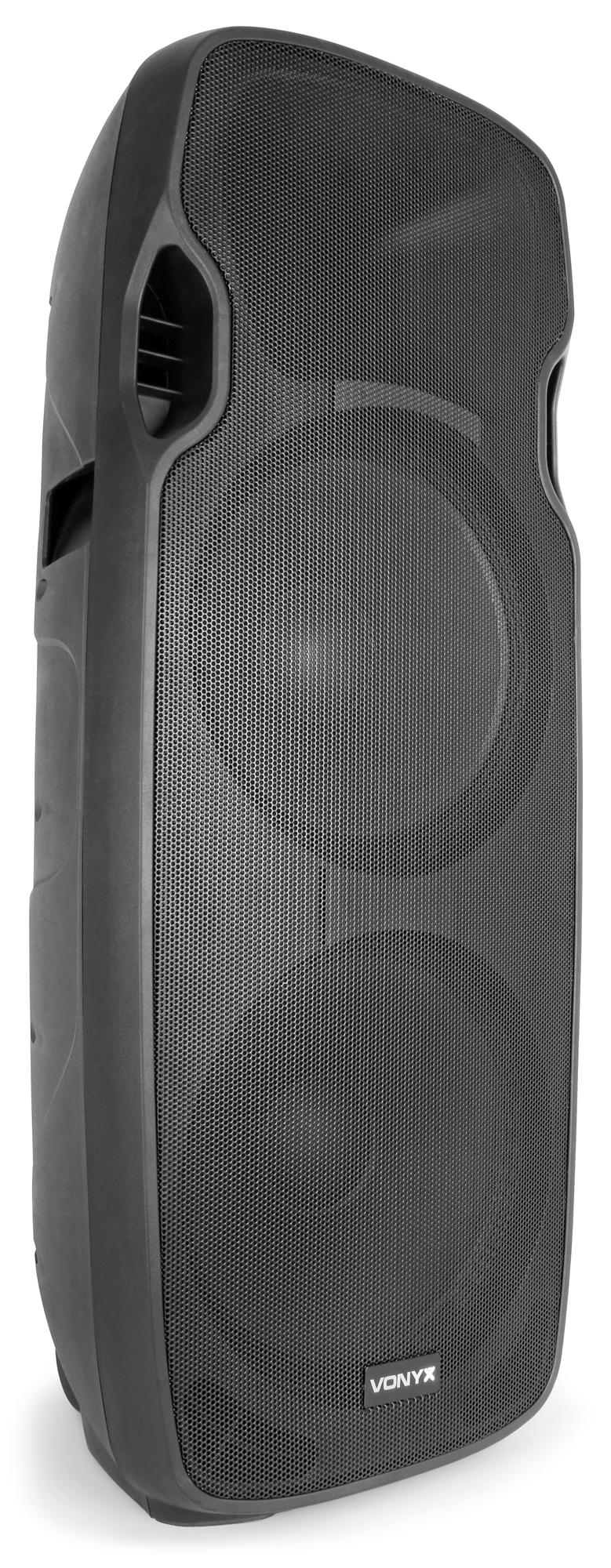 Vonyx AP215ABT Active Speaker 2x 15
