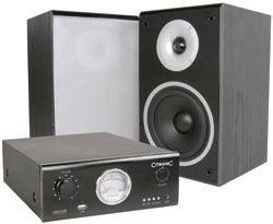 Citronic DJ Monitor System, USB/MP3, 80W