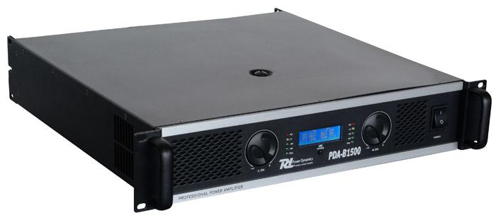 Power Dynamics PDA-B1500, zesilovač 2x 750W