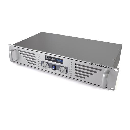 Skytec PRO-240 PA zesilovač, stříbrný