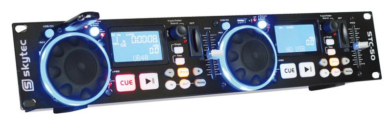 Skytec STC-50 Double MP3/USB/SD přehrávač