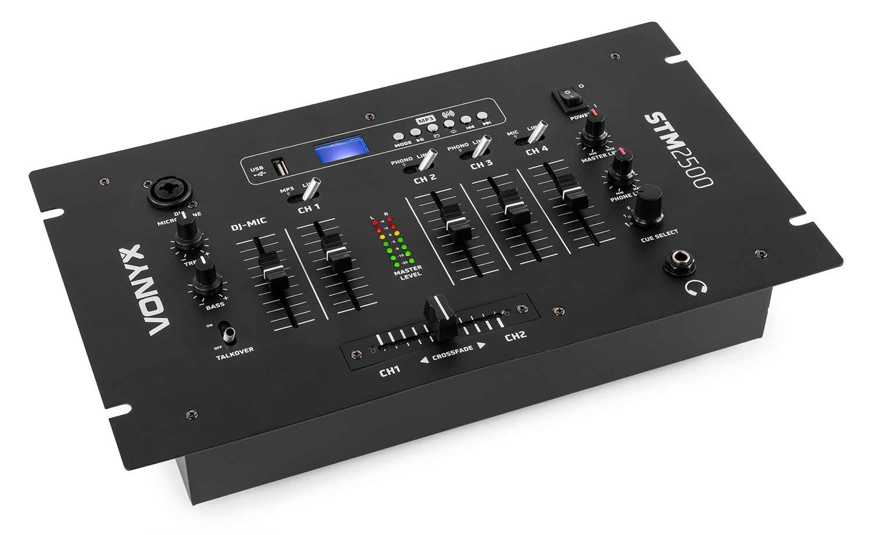Vonyx STM-2500, 5-kanálový mix pult s USB/MP3/Bluetooth