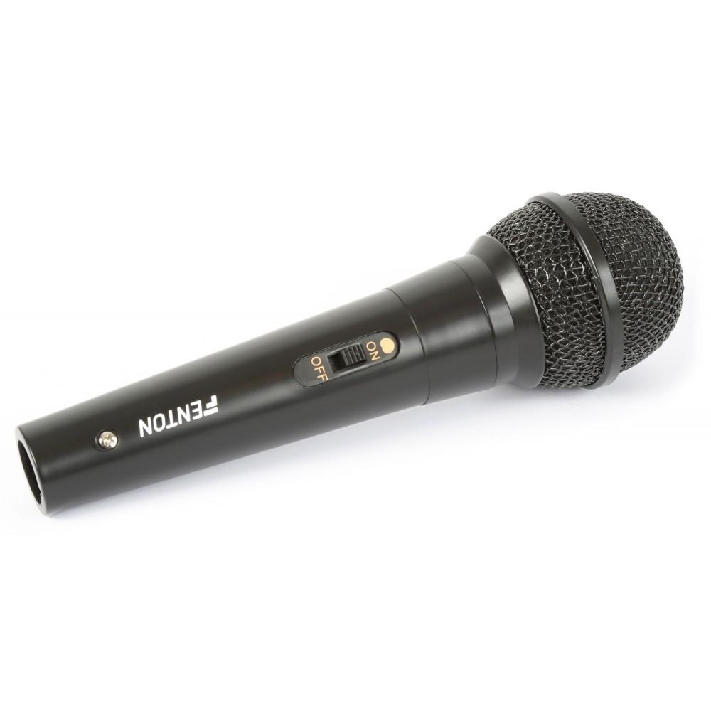 Fenton dynamický mikrofon, 600ohm, plastový