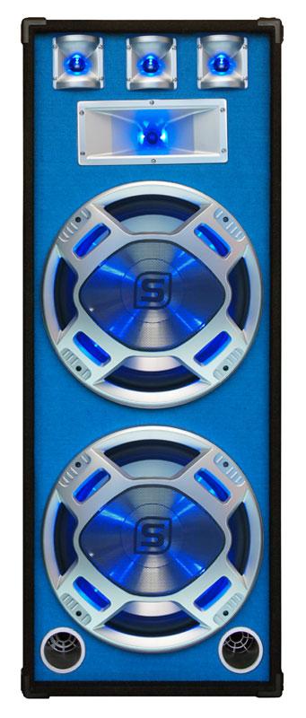 Skytec Disco PA speaker 2x 15