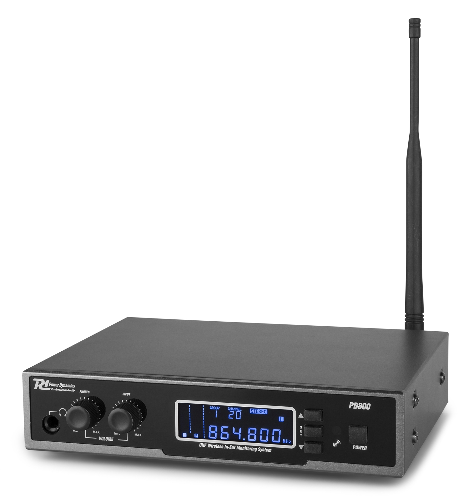 Power Dynamics PD800 In Ear monitorovací systém UHF