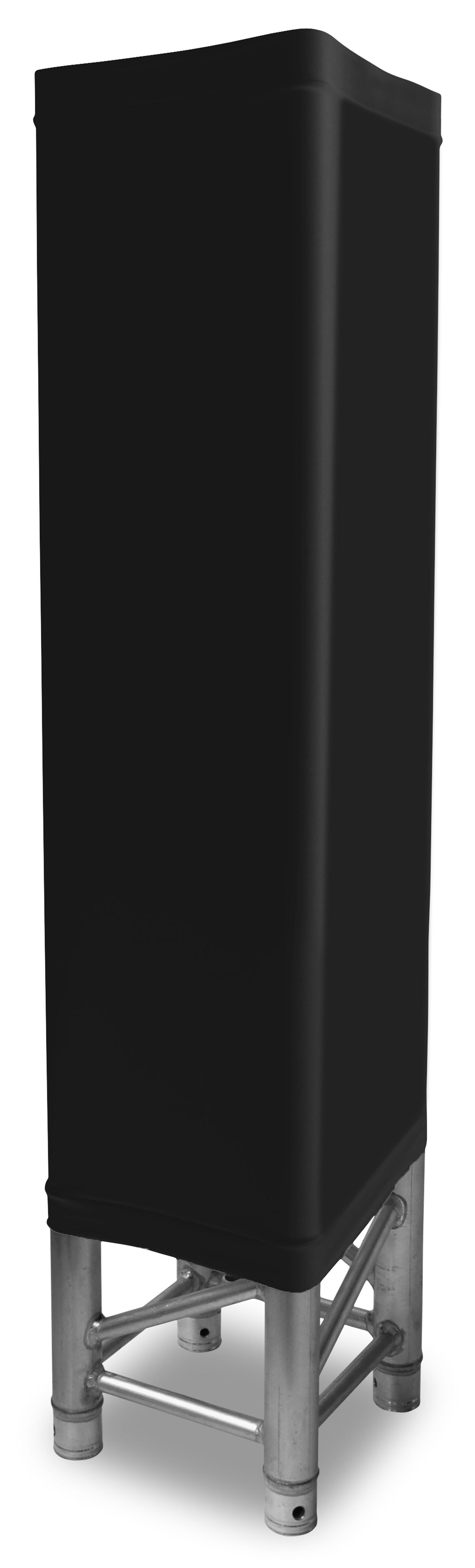 Návlek na konstrukci, 1 m, černý