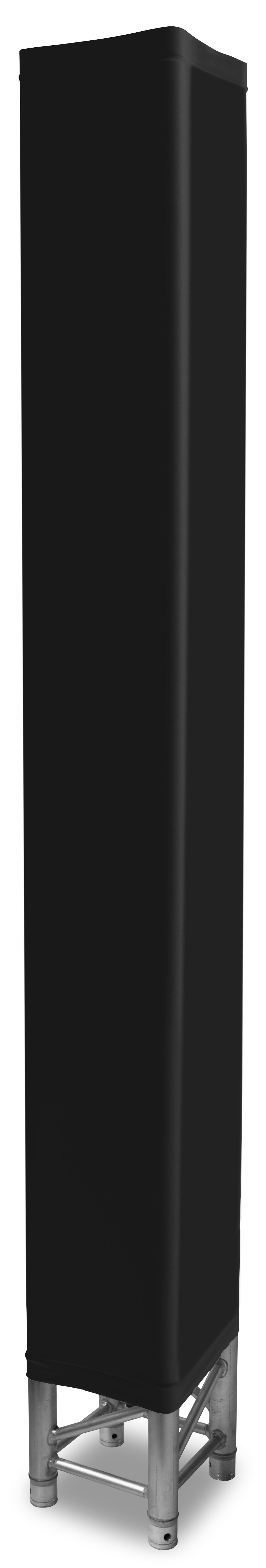 Návlek na konstrukci, 2 m, černý