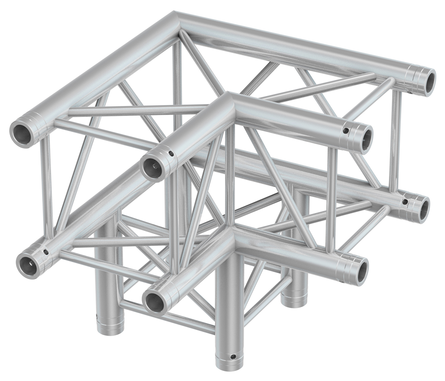 BeamZ Professional P30-C30 Truss 3-way corner 90