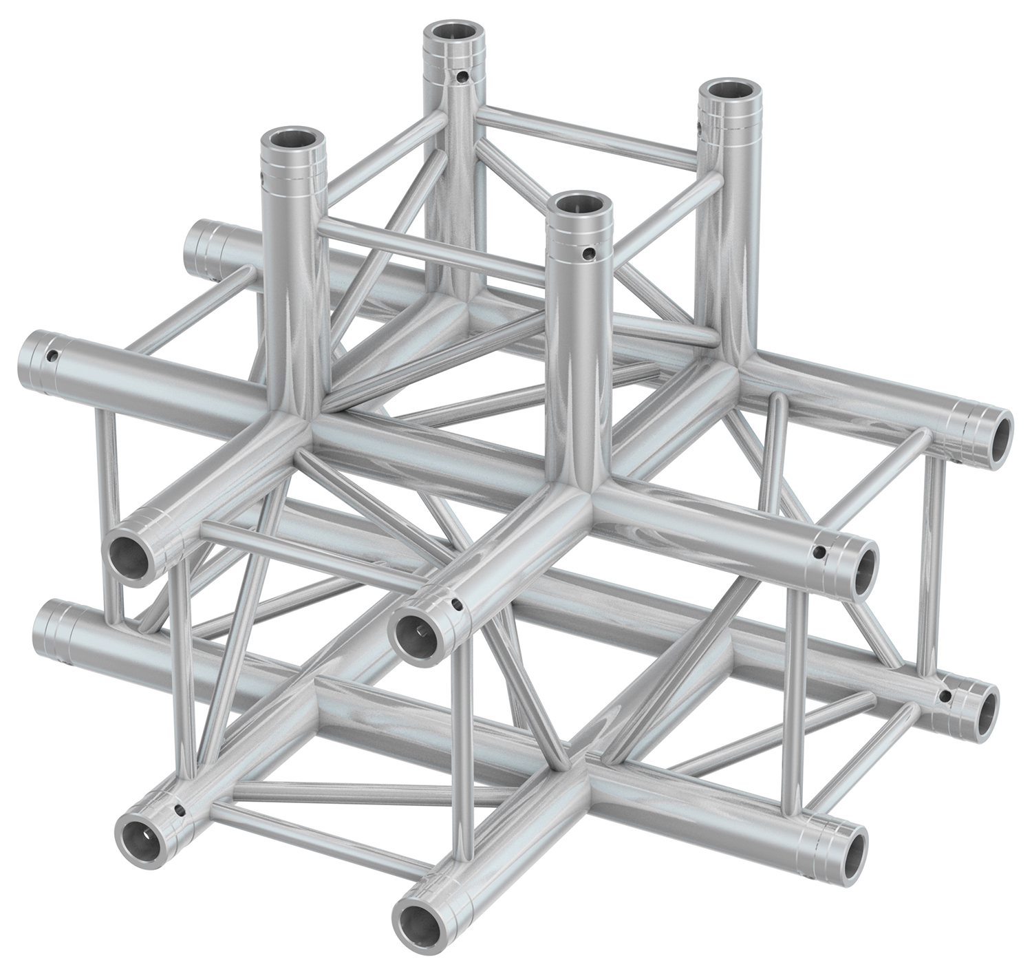 BeamZ Professional P30-T42 Truss 4 way T-junction