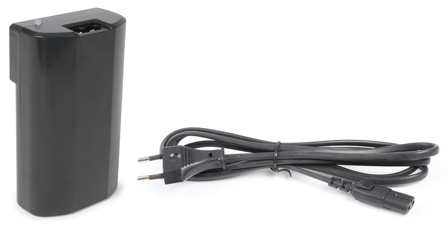 Vonyx Lithium-ion 12V battery pack with charger